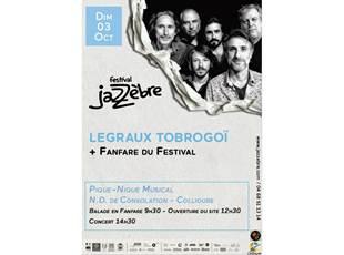 Jazzèbre - Pique-nique musical- Legraux Trobogoï