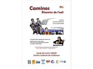 Concert, conférence et lecture : « Camino », les chemins de l'exil