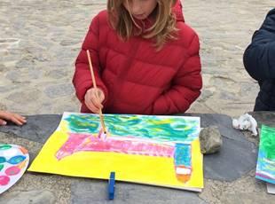 Atelier de peinture enfants