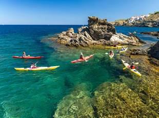 Randonnée en kayak avec Aléoutes !