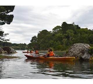Balade nautique kayak en rivière d'Auray et du Bono