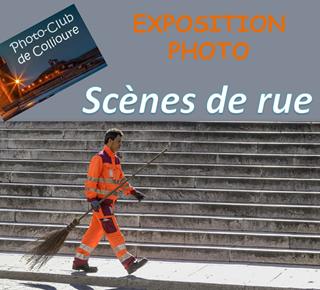 "Exposition ""Scènes de rue"""