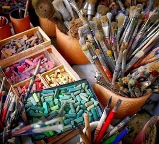 Atelier peinture à Arzon