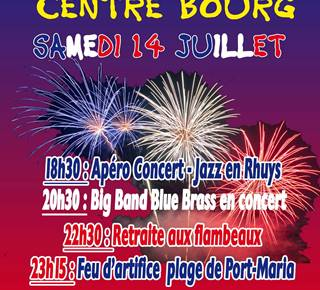 Fête Nationale à Saint-Gildas-de-Rhuys
