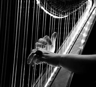 Concert de Morgan of Glencoe - Harpe et chant