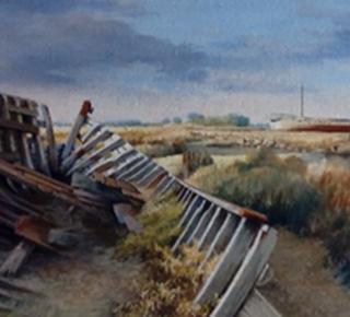 Exposition du peintre Jacques Robuchon
