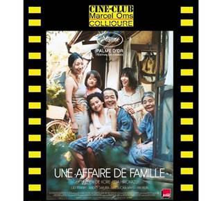 """Ciné - Club : """"Une affaire de famille"""""""