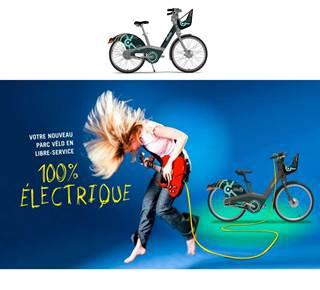 Vélocéo, Le Parc Vélo en Libre Service