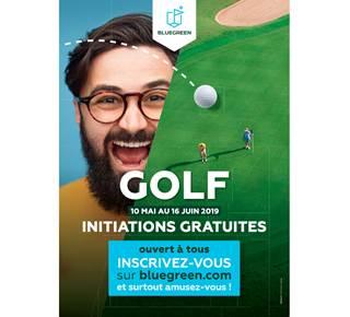 Initiations gratuites au golf pour adultes