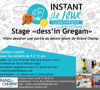 Stage dess'in Gregam
