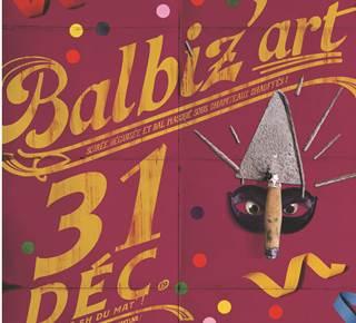 Soirée du nouvel an Balbiz'art 2019