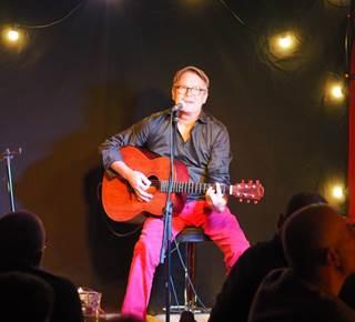 Concert Olivier Trévidy au Petit Café dans la Prairie