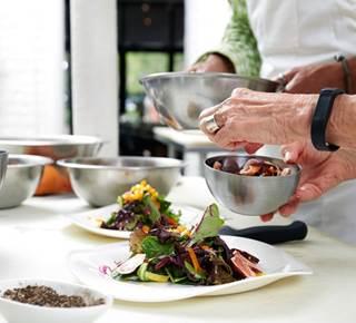 Atelier culinaire avec achats au marché de Vannes