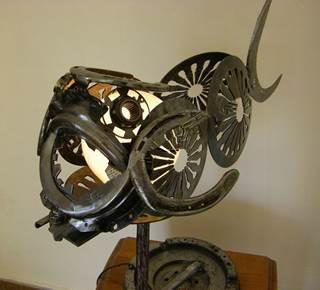 Exposition de sculptures sur métal