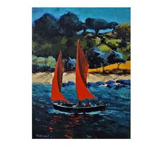 Fisher Bank Atelier - Olivier Radenac Artiste Voyageur