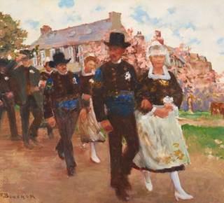 Visite guidée de l'exposition Joseph-Félix Bouchor (1853-1937), peintre. Instants de vie