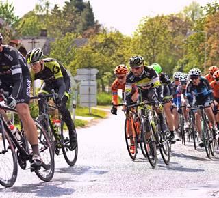 Etape de la course cycliste « L'Estivale bretonne »