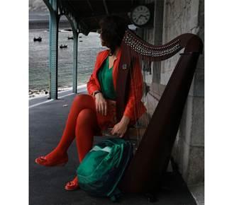 Roxane Martin, harpe celtique