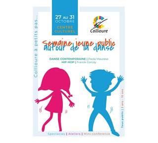 Semaine jeune public autour de la danse (spectacles et ateliers parents - enfants gratuits)