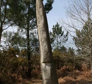 Menhir Quenouille de Gargantua la Croix Pin