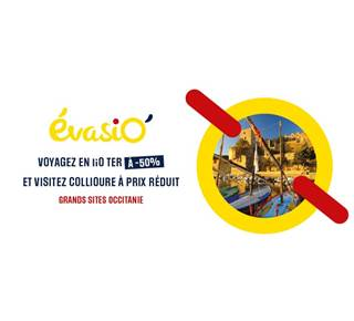 Offre EvasiO'Culture Collioure - TER Occitanie