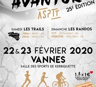 ASPTT Gwened'Avantur - 25ème édition