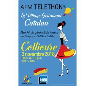 TELETHON - Marché Gourmand Catalan