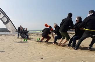 Activités incentive sur les plages Morbihannaises avec Nautik Experience