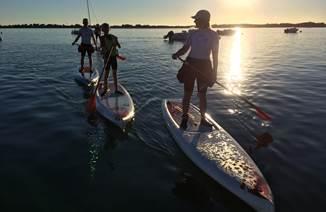 Balade en canöe ou en paddle sur les plus beaux sites du Morbihan avec Nautik Experience