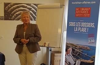 Une nouvelle présidente pour le « Club Morbihan Affaires »