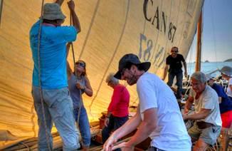 Journée de navigation en voilier traditionnel avec West Avel