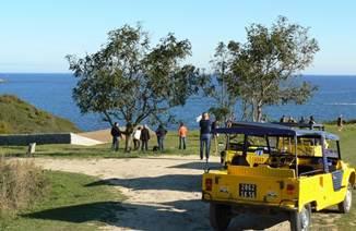 Rallye Méhari à Belle Ile en Mer avec Skippage