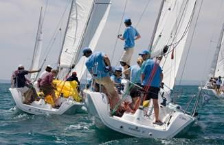 Régates d'entreprises en Baie de Quiberon avec Team Winds