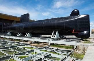 Sous-marin Flore S645 et son musée
