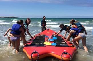 Rafting challenge avec Nautik Experience