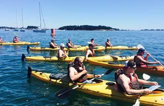 Course d'orientation en kayak avec Armor Evasion