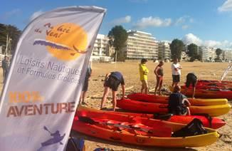 Beach games avec Au Gré du Vent sur un formidable terrain de jeu !