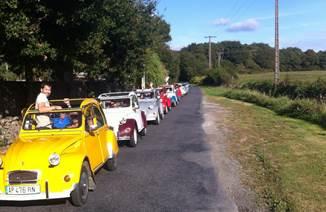 Rallye avec Au Gré du Vent : à pied, à vélo, en e-solex, en semi rigide ou 2 CV !
