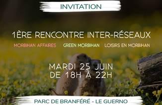 Soirée Inter réseaux Parc de Branféré
