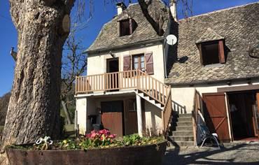 Appartement Mathilde en haut de l'escalier