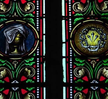 St Volusien, vitraux