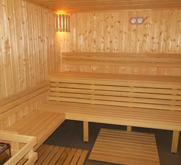 sauna et piscine