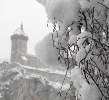 chateau neige