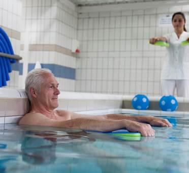 Mobilisation en piscine