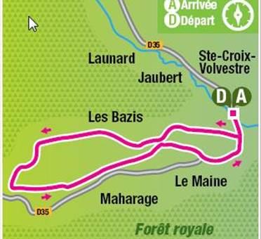 Circuit découverte de la Forêt Royale