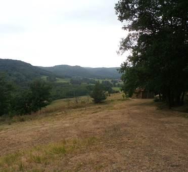 vue depuis le camping