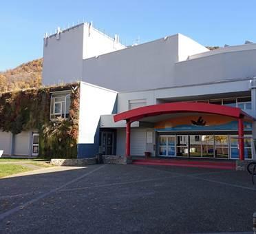 Façade centre culturel