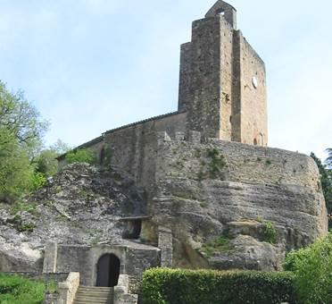 Église rupestre de Vals