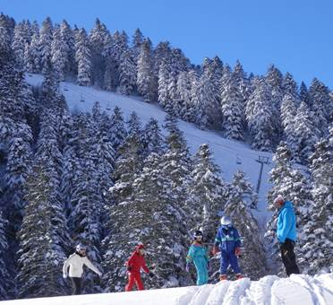 Ski ascou