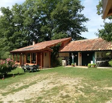 Clairière maison